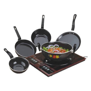 Cookware Set - Induction Base Non Stick Kitchen Sets ( Set of 5 )