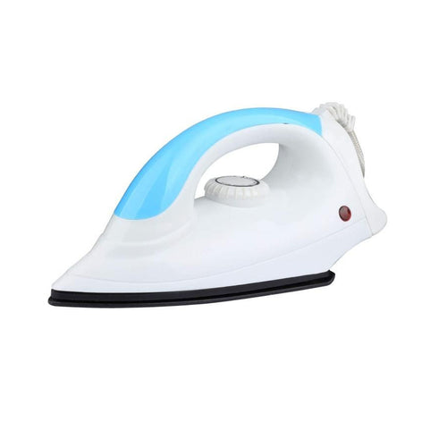 Dry Iron - Light Weight and Non-Stick Coated Sole Plate Iron