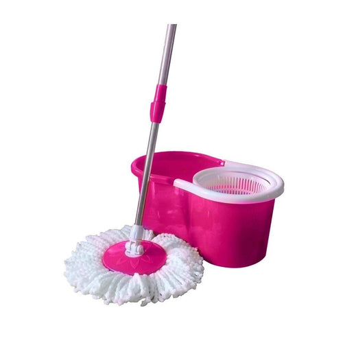 Mop Cleaner With Spin Bucket