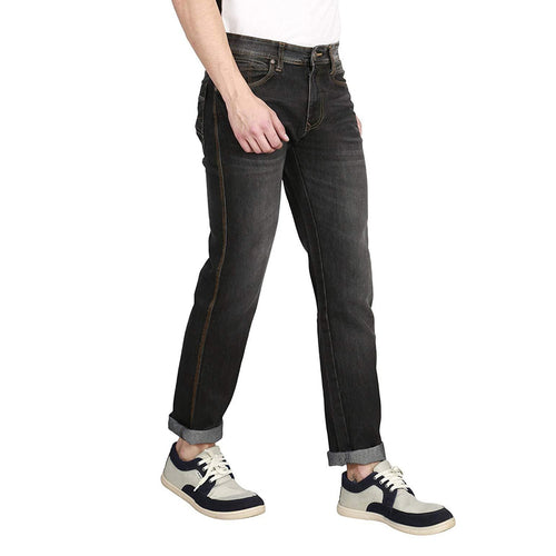 Denim Solid Slim Fit Jeans