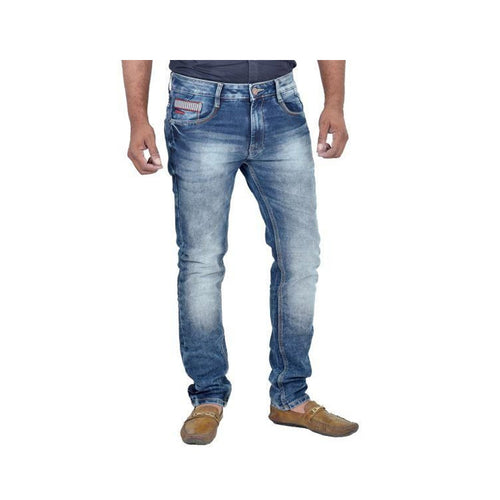 Denim Solid Regular Fit Jeans