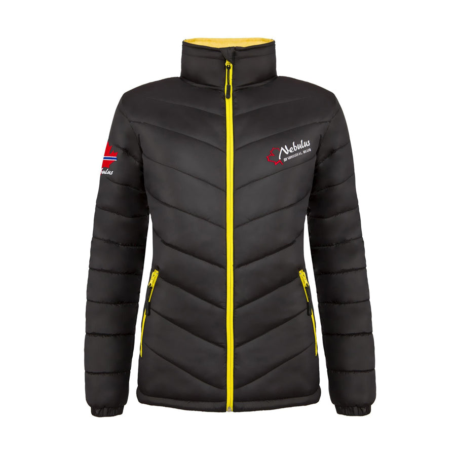 Women's Polyester Zipper Warm Jacket