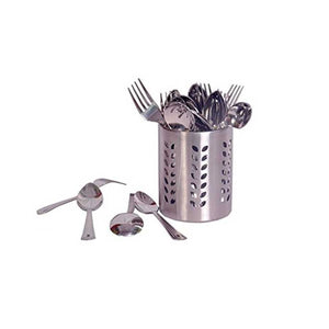 Stainless Steel Cutlery Set, 25-Pieces, Silver