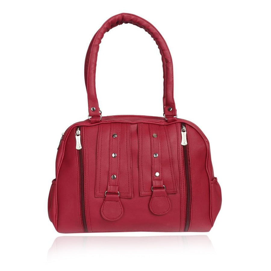 Xclusive Plus Multipurpose Stylish Maroon Handbag