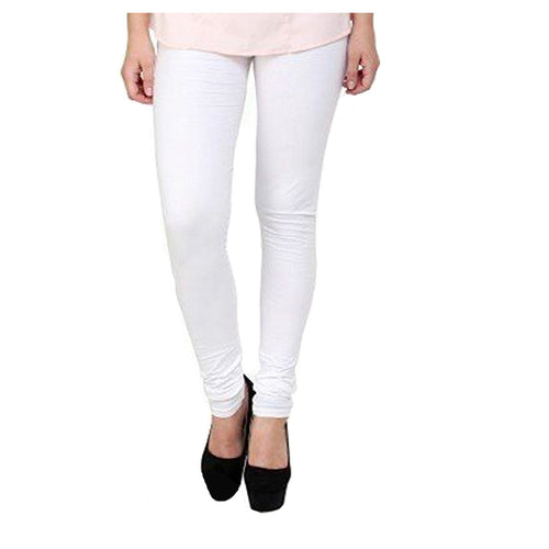 Elegant Solid Cotton Leggings