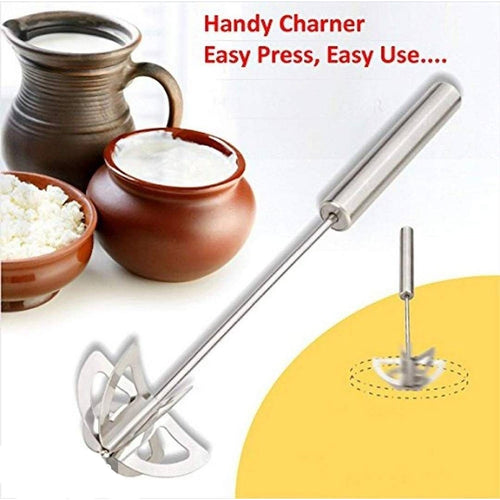 Stainless Steel Hand Mixi Handheld Blender - Pack Of 1