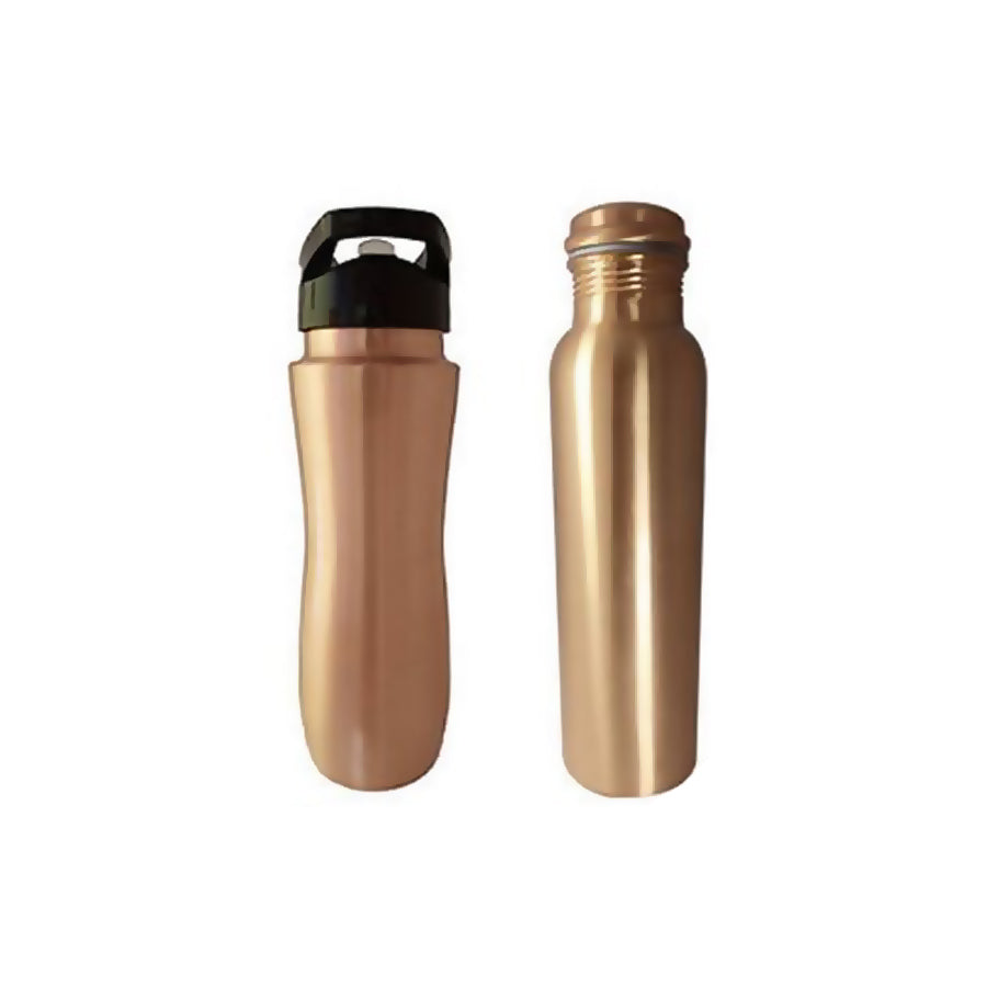 copper Bottle Trendy Sipper Combo ( Pack of 2)