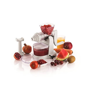 Classic Fruit & Vegetable Manual Juicer with Steel Handle