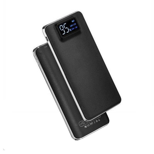 T-13 10000 mAh Power Bank Fast Charging (BLACK, Lithium-Polymer)