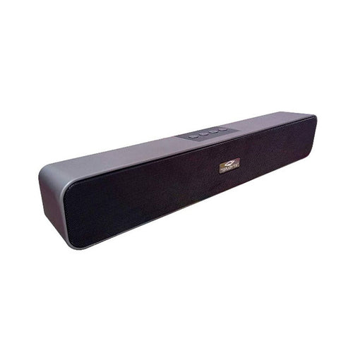Wireless Soundbar with Built-in Dual Bass Port