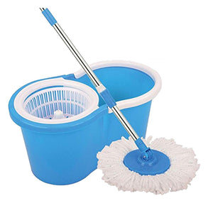 Magic Spin Mop with Bucket Set for Floor Cleaning with 2 Refill Head