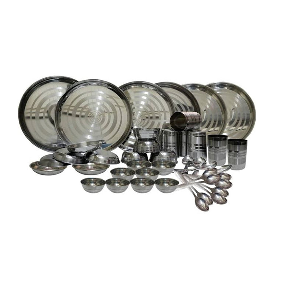Stainless steel Dinner Set - 42 pcs