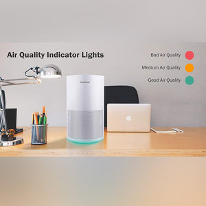 Healthlead EPI235 Air Purifier with HEPA Filter