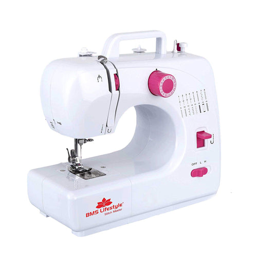 Mini Sewing Machine White and Pink