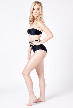 Swimwear for ostomy and scars