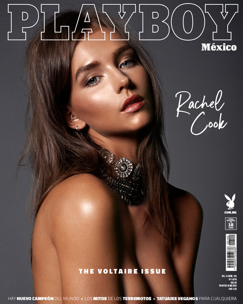 Rachel Cook by Robert Voltaire for Playboy Mexico.  November - 2018