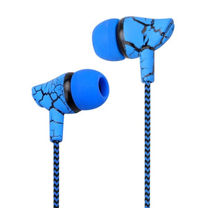 Wired Headphones Super Bass 3.5mm Crack Earbuds with Microphone - BestCheapEarbudsShop