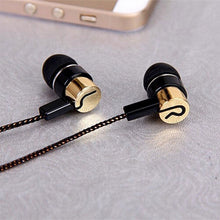 Load image into Gallery viewer, Jack Fiber Braided Rope Noise Isolating Earbuds - BestCheapEarbudsShop