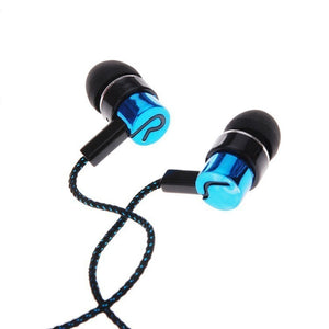 Jack Fiber Braided Rope Noise Isolating Earbuds - BestCheapEarbudsShop