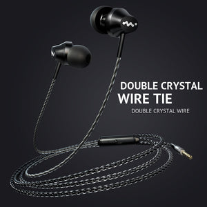 M8 Heavy Bass In-Ear Earphones 3.5mm Microphone High Quality Earbuds - BestCheapEarbudsShop