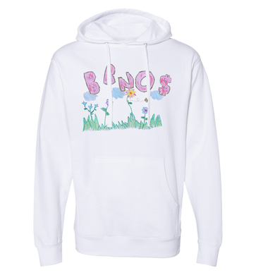 Crayon Pullover Hoodie (White)