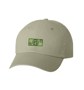 Dollar Patch Dad Hat (Khaki)