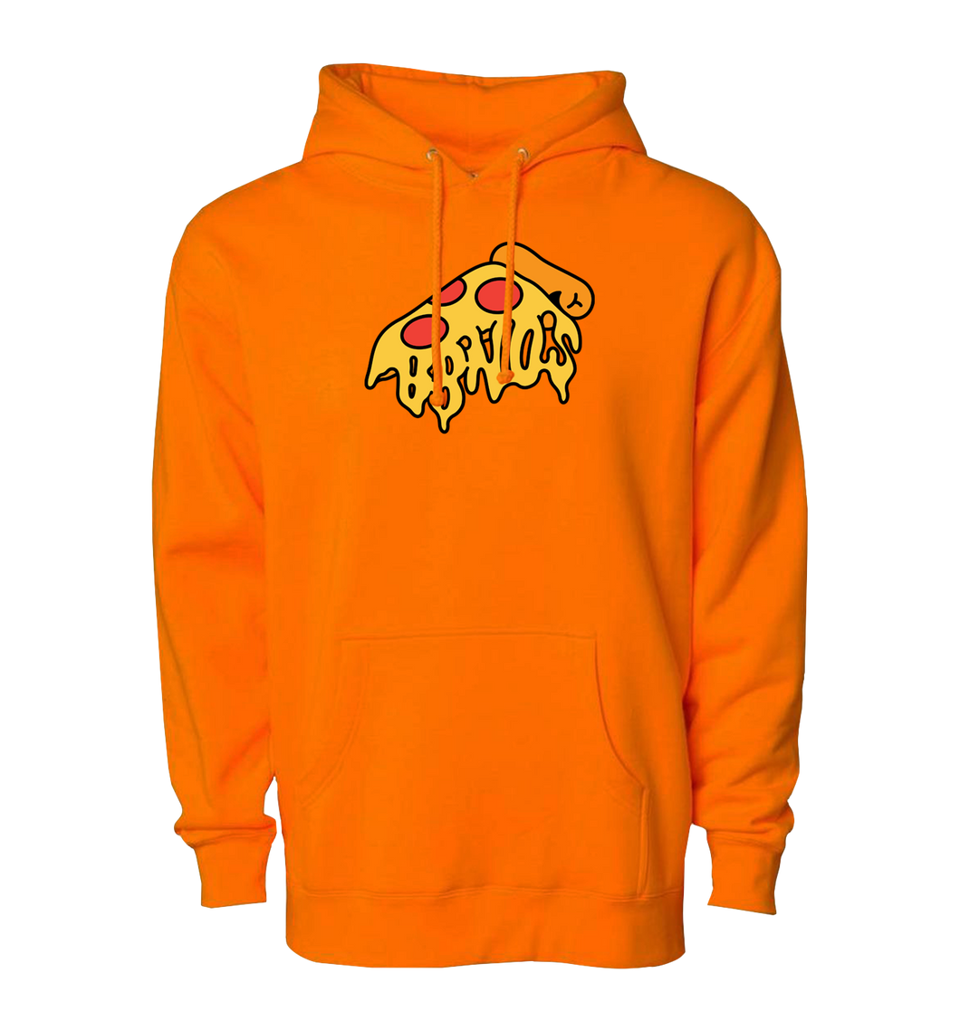 Pizza Pullover (Safety Orange)