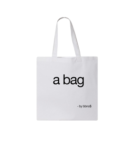 a tote bag (White)