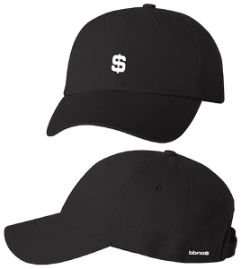 Dollar Sign Embroidered Dad Hat