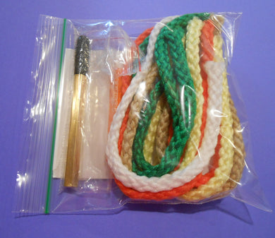 Dorsey Strike Indicator Kit include poly yarn, velcro dubbing tool, elastic bands.