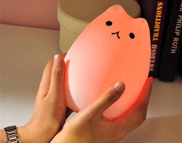 Kitten Color Changing Night Light