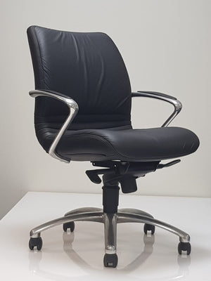 Medium Back Reclining Desk Chair