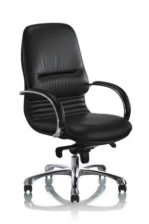 classic black managers chair