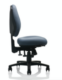 Side view of a chair with no armrest