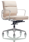 White corporate chair