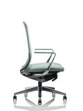 Side angle of a corporate chair