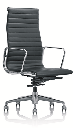 Black boardroom chair