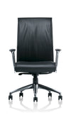 Front angle of corporate chair