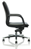 Side angle of boardroom chair