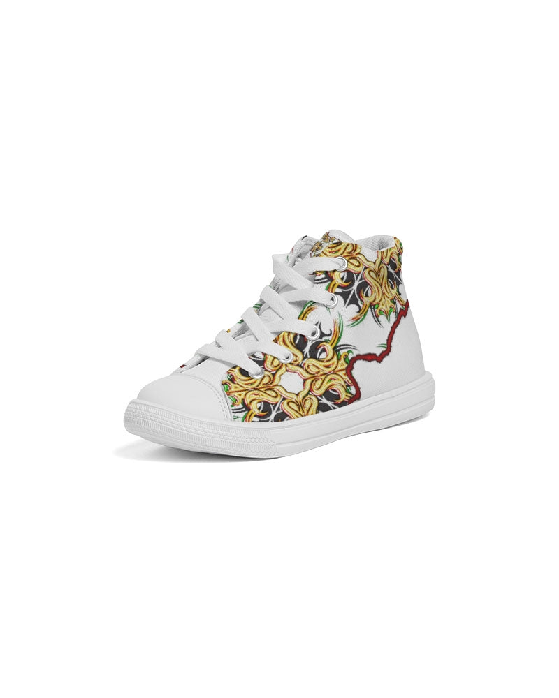 One Vibe Kids Hightop Canvas Shoe