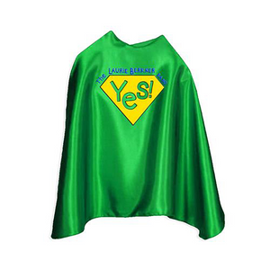 "Yes! Superhero Cape Youth 30"" (Green)"