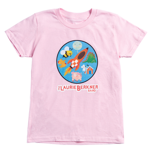 Rocket Youth T-Shirt (Pink)
