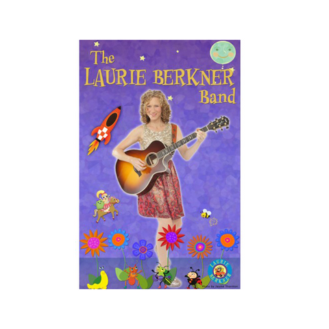 The Laurie Berkner Band Autographed - Poster
