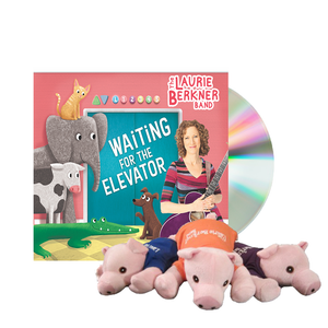 Waiting for the Elevator - CD (Buy One, Gift One) + a Beanie Pig