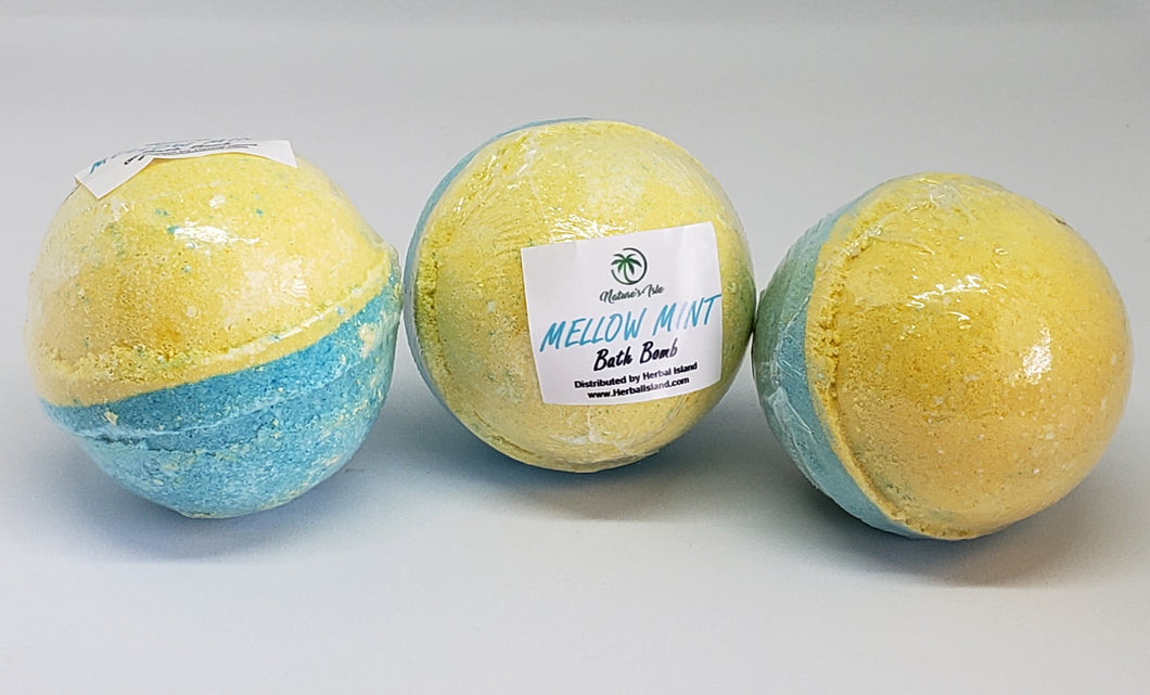 Mellow Mint Bath Bomb 3 Pack