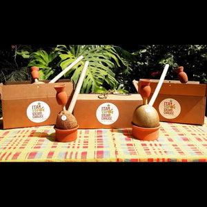 Twin Set Herb Steamer Coconut & Calabash 10 Pc Kit