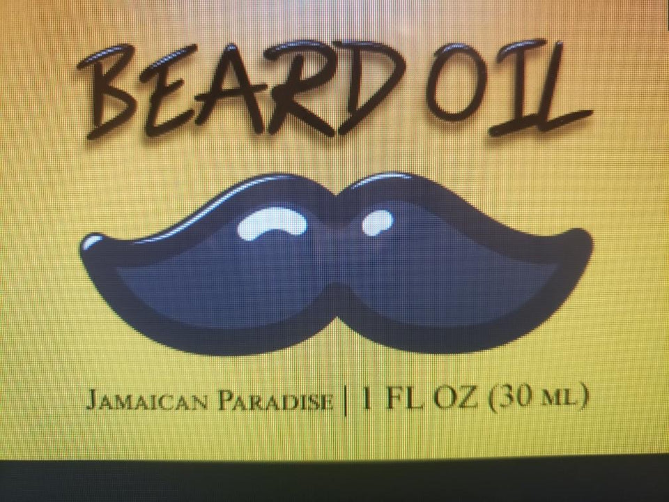 Jamaican Paradise Beard Oil 🧔🏾 (Amazing Tropical Scent)
