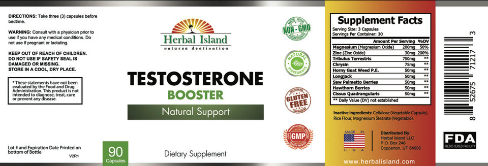 *Exclusive Natural Testosterone