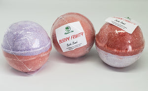 Berry Fruity Bath Bomb 3 Pack