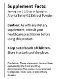 (Superfood) Aronia Berry 4:1 Extract - Chokeberry Powder